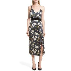 CINQ A SEPT LEENA FLORAL DRESS 👗IN STORES👗